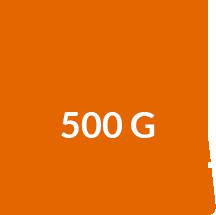 500g Gewicht